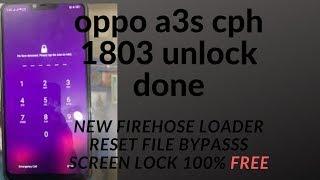 oppo a3s pattern unlock password unlock frp unlock reset unlock by