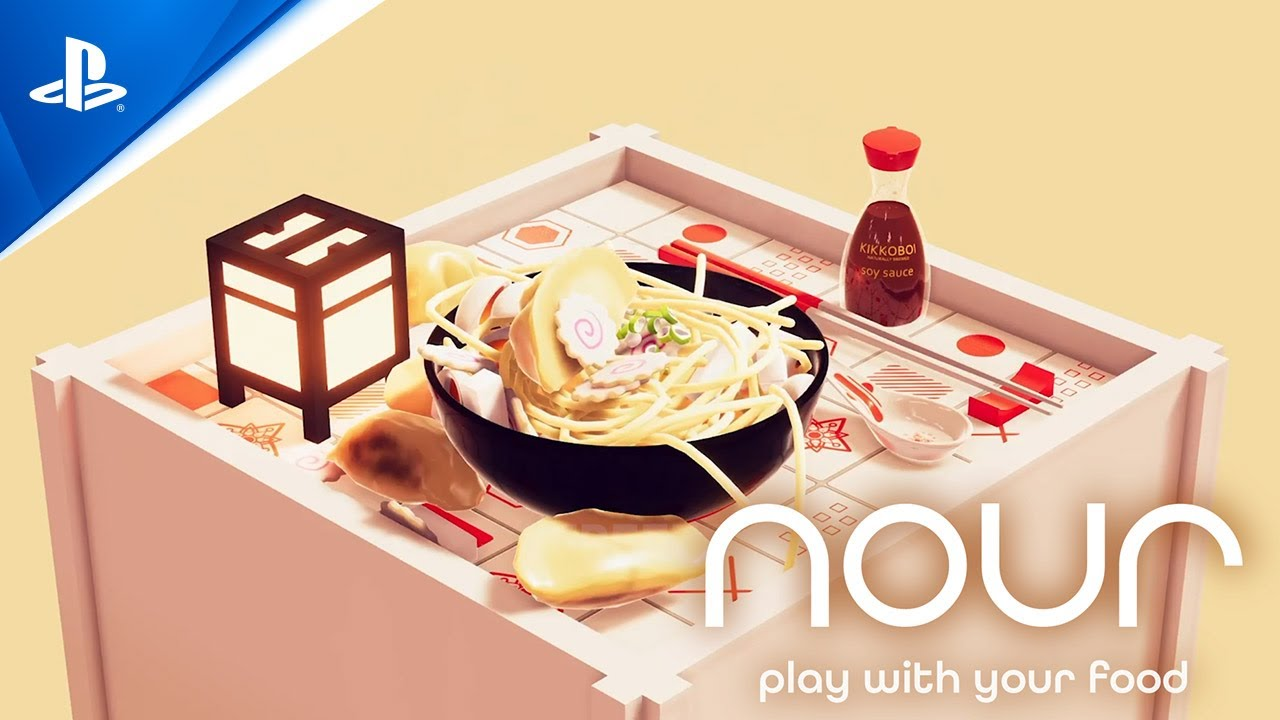 Der Sous Chef in Nour: Play With Your Food ist der interaktive Soundtrack