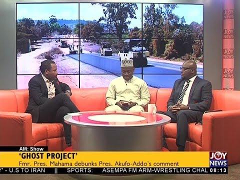 'Ghost Project' - AM Talk on JoyNews (22-5-18)