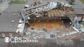 Extensive devastation after Hurricane Michael blasts Florida Panhandle