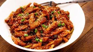 Honey Chilli Potato Recipe | Crispy Restaurant Style Starters - CookingShooking