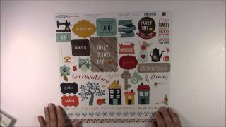 Create Today Sweet Card With Echo Park Paper