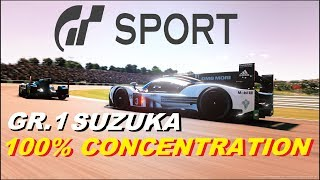 GT SPORT 100% CONCENTRATION NEEDED GR.1 DAILY RACE AT SUZUKA