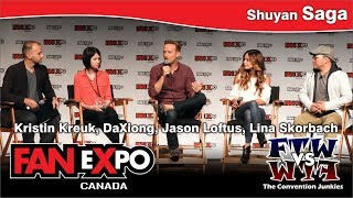 2017 FAN eXpo Canada | Shuyan Saga Panel (02.09.17)