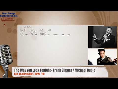 Frank Sinatra The Way You Look Tonight Lyrics