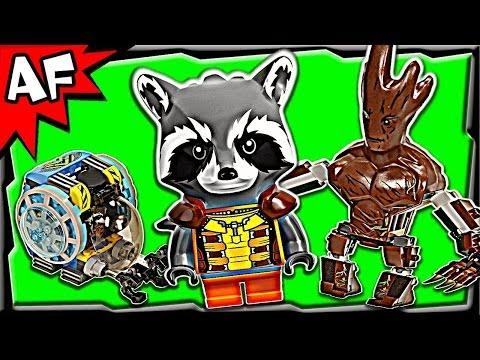 Vidéo LEGO Marvel Super Heroes 76020 : La mission d'évasion