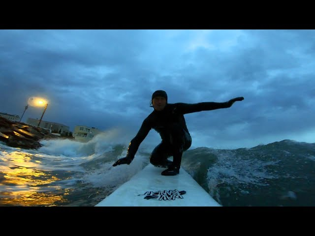 NIGHT SURFING in NEW JERSEY