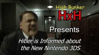 Hitler Is Informed about the New Nintendo 3DS
