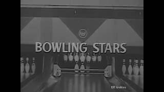 AMF Bowling Stars - Welu vs King 1957 -