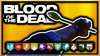 Blood of the Dead How to Get The Golden Spork Easter Egg Guide! Black Ops 4 Zombies Golden Spork