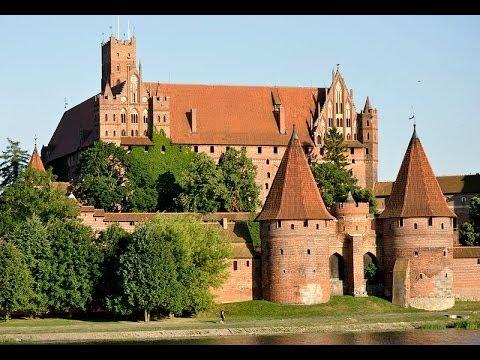 Замок Мариенбург в Польше