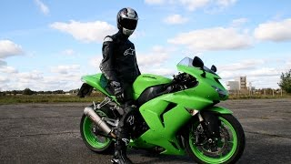 Loudest Kawasaki ZX10R engine exhaust sounds in the world.