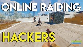 ONLINE RAIDING HACKERS! - Rust Survival #31