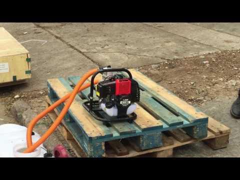 Bomba de Agua Equus motor 2 tiempos 1.5hp