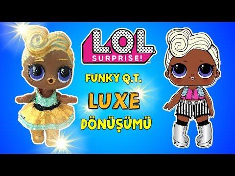 LOL Sürpriz Challenge! 2.Seri LUXE Dönüşümü Punk Boi vs Luxe Makeover Custom loldoll Bidünya Oyuncak