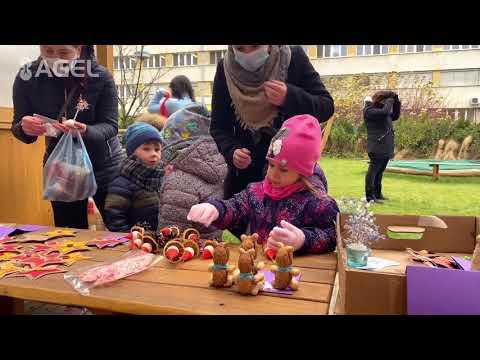 Video: Mateřská škola AGEL připravila Vánoční jarmark