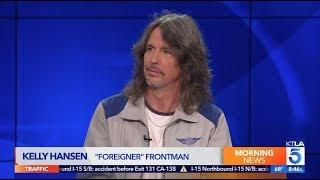 """""""Foreigner"""" Lead Singer Kelly Hansen on his Vegas Residency"""