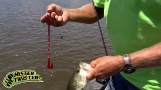 Introducing The Mister Twister MAG 12 BUZZ Worm & How To Fish Big Worms