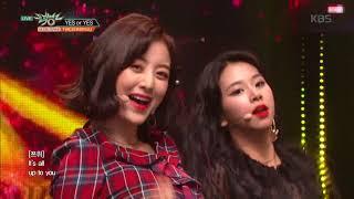 뮤직뱅크 Music Bank - YES or YES - TWICE(트와이스).20181123
