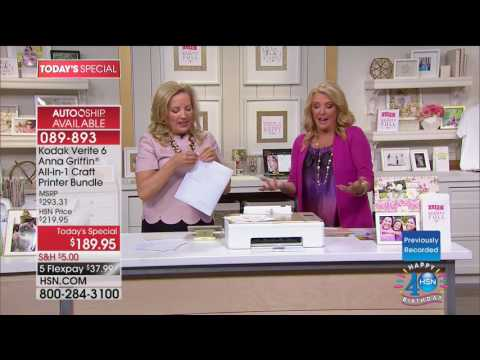 HSN   Anna Griffin Paper Crafting Celebration 07.11.2017 - 05 AM