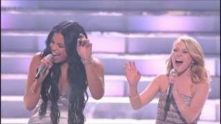 Jordin Sparks & Hollie Cavanagh  - You Will Never Walk Alone - American Idol 2012