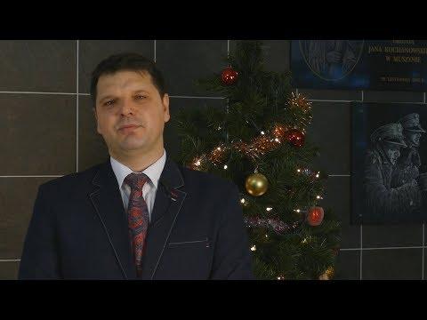 Życzenia Bożonarodzeniowe Jerzego Majki - Przewodniczącego Rady Miasta i Gminy Uzdrowiskowej Muszyna