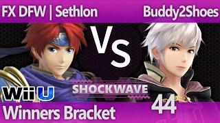 SW 44 Smash 4 - FX DFW | Sethlon (Roy) vs Buddy2Shoes (Robin) - Winners Bracket