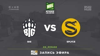 BIG vs. Splyce - ESEA Premier Season 24 - LAN Finals - de_mirage [Anishared]