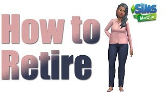The Sims Mobile How to Retire A Sim and Promote A Sim to Playable