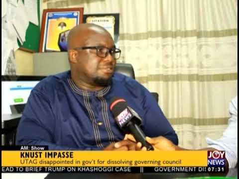 KNUST Impasse - AM Talk on JoyNews (26-10-18)