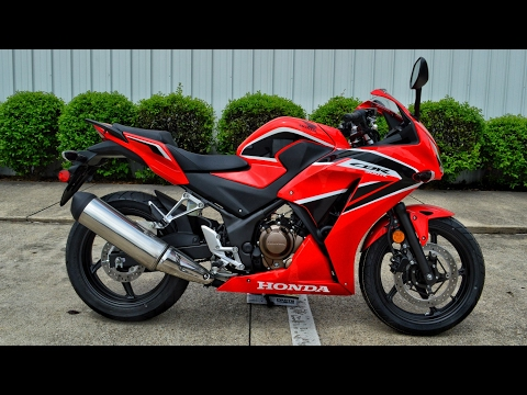2017 Honda CBR300R Review of Specs | Sport Bike / Motorcycle Walk-Around | CBR 300 R