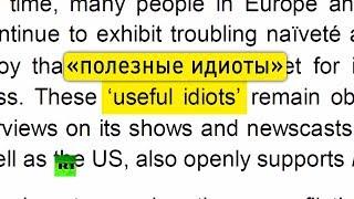 Меня назвали «полезным идиотом»: эксперты RT комментируют доклад European Values