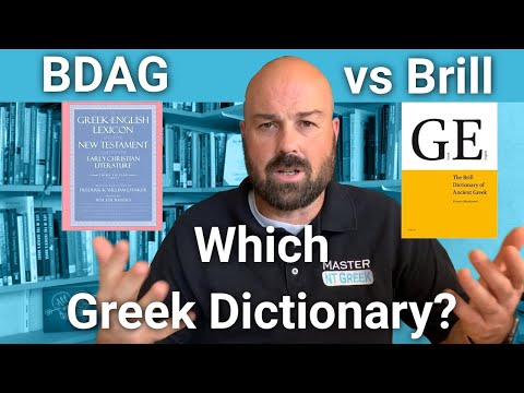 Greek Lexicon showdown: What is the best dictionary for Biblical Greek?