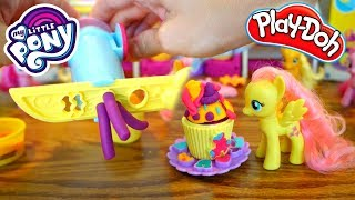 My Little Pony Pinkie Pie Cupcake Party Playdoh Playset! Play-doh Unboxing
