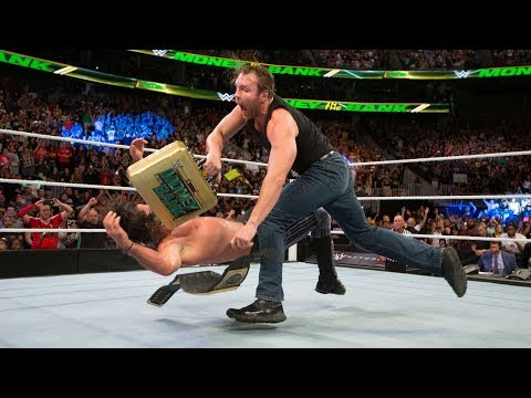 Download Dean Ambrose turns the briefcase into a championship-winning weapon: WWE Money in the Bank 2016 HD Mp4 3GP Video and MP3