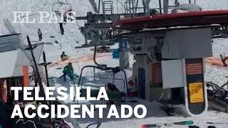 Un telesilla causa 8 heridos al ir a una gran velocidad en Georgia | Viral