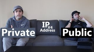 Private vs Public IP Address (Version 4)
