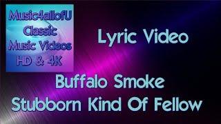 Buffalo Smoke - Stubborn Kind Of Fellow (HD Lyric Video) 1979 RCA Vinyl