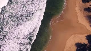 AERIAL Pantai Gunungkidul Wediombo & Siung | DJI Phantom 3 Standard Footage