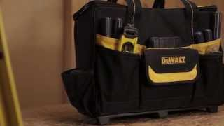 DEWALT BY CLC 17″ Roller Tool Bag