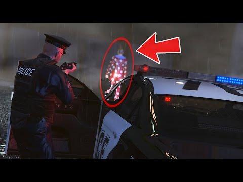 CREEPY CLOWN SIGHTINGS!! (GTA 5 Mods PLAY AS A COP MOD)