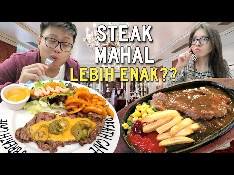 Steak Rp 200.000 vs Rp 50.000 !!!