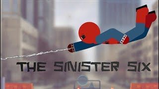 Spider-Man And The Sinister Six (Рисуем Мультфильмы 2)