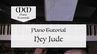 Hey Jude (The Beatles) ~ Piano Tutorial