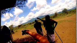 preview picture of video 'Outride To Monduli - Arusha - XR250R and XR600 - GoPro Hero 3'