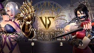 E3 2018 - Soulcalibur VI - Ivy - Taki - Playstation Live