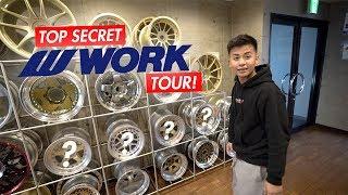TOP SECRET Work Wheels Japan Tour!