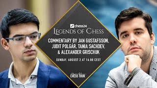 $150,000 Chess24 Legends Of Chess | Semis Day 3 | Anatoly Karpov Commentating