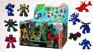 Full Set Tiny Titans Series 1 - Transformers Robots In Disguise Toys - New 2015