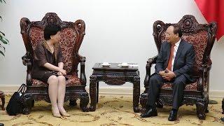 Thủ tướng Nguyễn Xuân Phúc tiếp Tổng Giám đốc Tổ chức Y tế thế giới